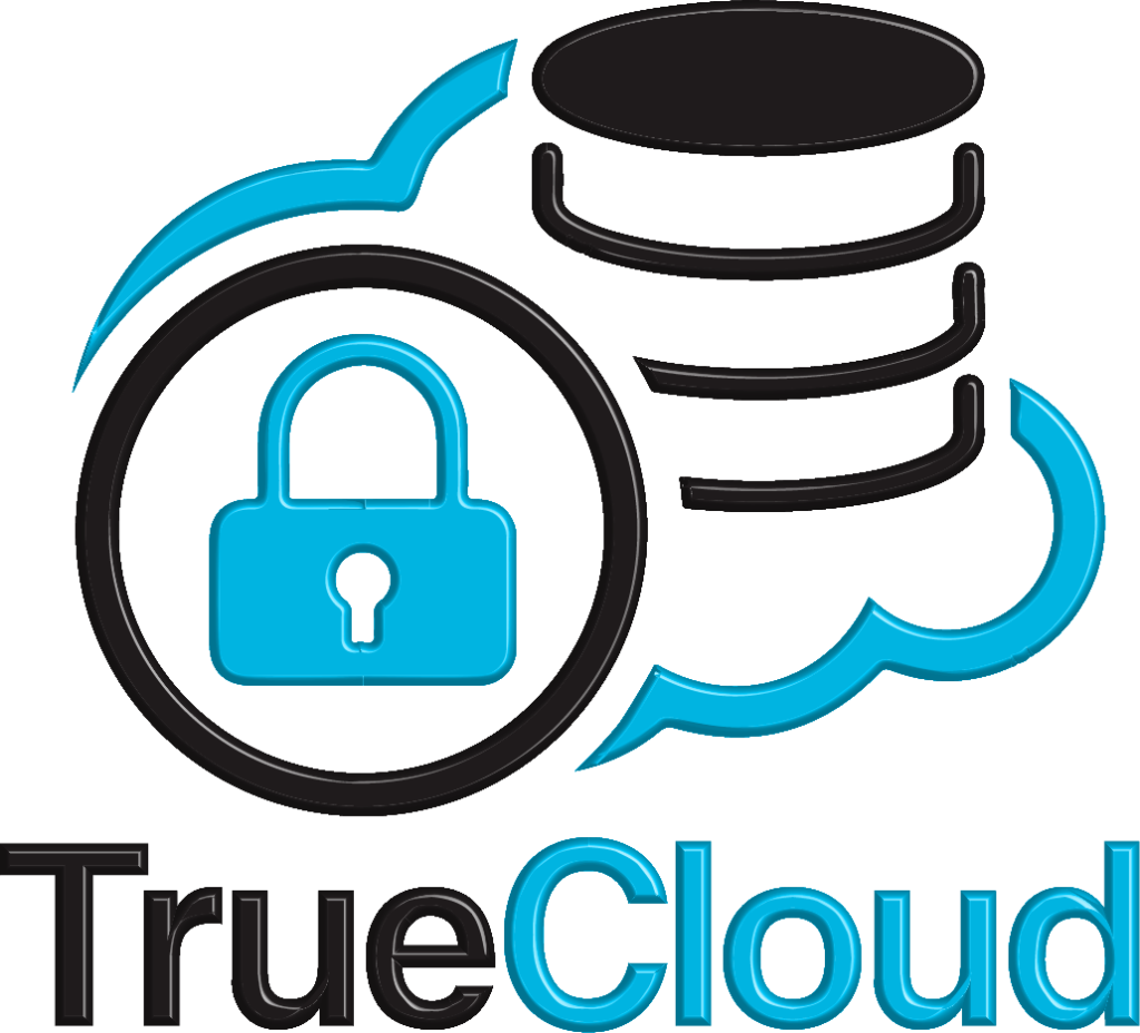 True Cloud Logo 3D (Transparent Background) - Original